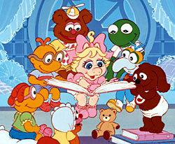 The Muppet Baby Family