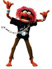 Animal from the Muppet Babies Rockin' Out!